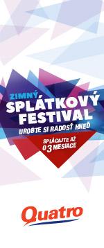 Quatro Jarný splátkový festival