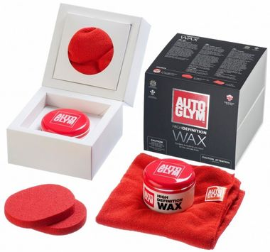 AUTOGLYM Tuhý vosk High Definition HDWAXKIT