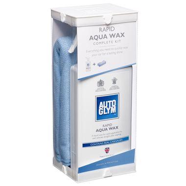 AUTOGLYM Rapid Aqua Wax Kit