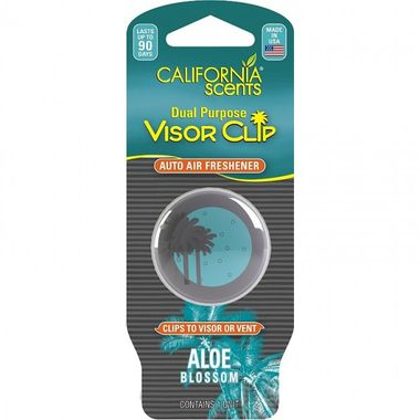 CALIFORNIA SCENTS Visor Clip Aloe VIS-6314