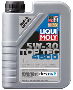 LIQUI MOLY Motorový olej TOP TEC 4600 5W-30