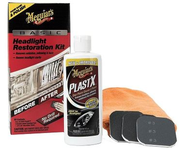 MEGUIARS Basic Headlight Restoration Kit G2960