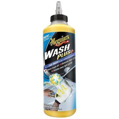 MEGUIARS Car Wash Plus+ - Vysoko koncentrovaný šampón