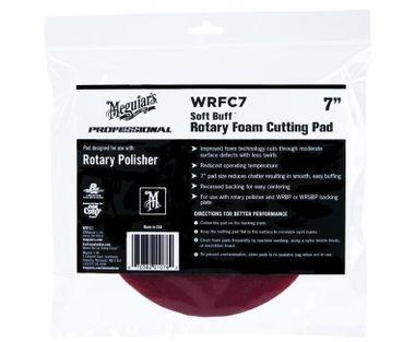 MEGUIARS Soft Buff Rotary Foam Cutting Disc 178mm WRFC7