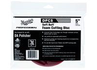 """MEGUIARS Soft Buff Foam Cutting Disc 5"""" DFC5"""