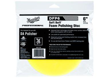 "MEGUIARS Soft Buff Foam Polishing Disc 6"" DFP6"