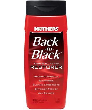 MOTHERS Back To Black Renovácia a ochrana plastov
