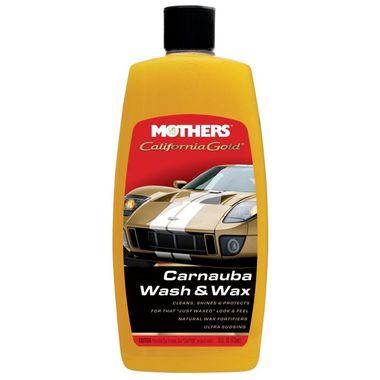 MOTHERS California Gold Carnauba Wash & Wax 473ml