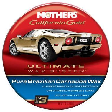 MOTHERS California Gold Pure Brazilian Carnauba Wax 340g
