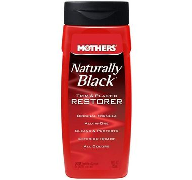 MOTHERS Naturally Black Renovácia a ochrana plastov