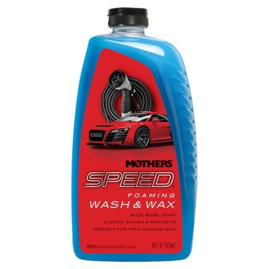 MOTHERS Speed Foaming Wash & Wax 1420ml