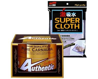 SOFT99 Authentic Premium a Super Cloth zdarma